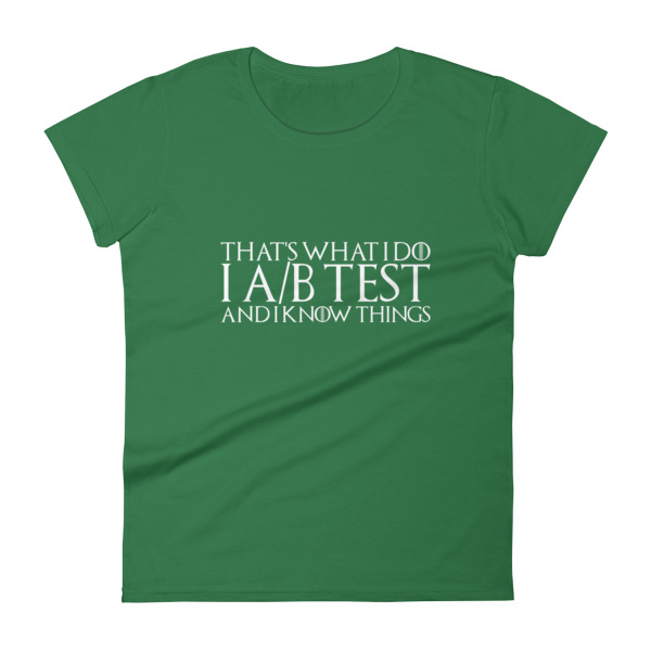 that's what i do i ab test womens shirt green