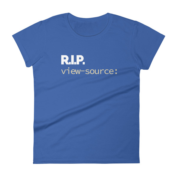 rip view source womens shirt blue