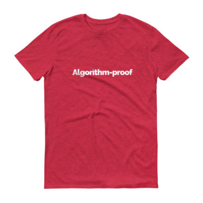 Algorithm-proof Men's T-Shirt