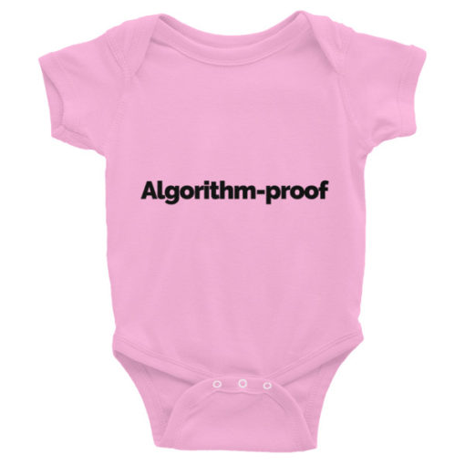 Algorithm-proof Short-sleeve Baby Onesie – Light
