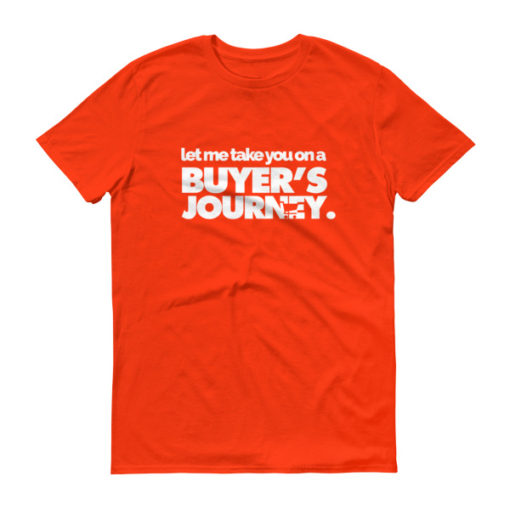Let Me Take You on a Buyer's Journey Men's T-Shirt