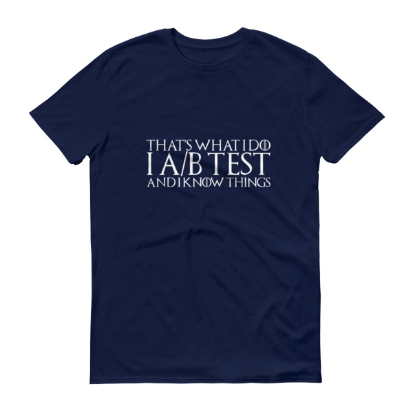 thats what i do ab test mens shirt navy blue