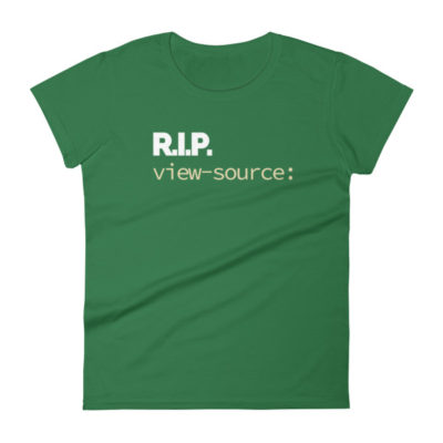 RIP view-source: Women's T-Shirt