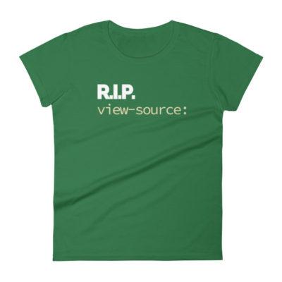 RIP view-source: Women's T-Shirt