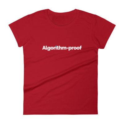 Algorithm-proof Women's T-Shirt